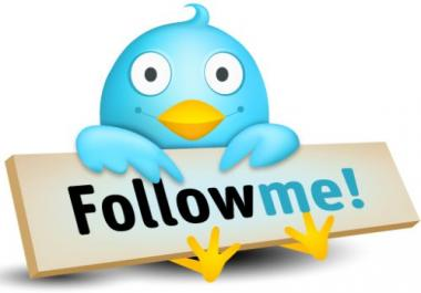 add 1,000 real Followers to your Twitter Account