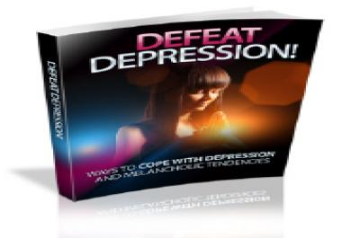 give you the ways to Defeat and Cope with Depression