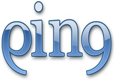ping (rapid index) up to 50,000 links, urls or profiles
