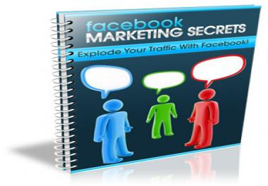 give you a high quality ebook unveiling the secrets on how you can generate unlimited traffic and skyrocket your income with Facebook