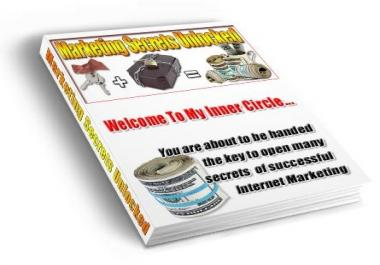 give you top gurus marketing secrets that worth 100x more than what you are paying for & full PLR rights to it