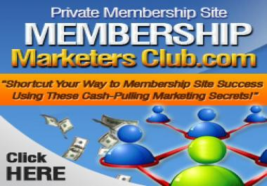 grant you lifetime exclusive membership on monetizing a free membership site and put more cash to your pocket with little work