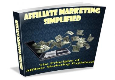 give you a high quality ebook on how to become a super affiliate earning commission that you could only dreamt of all these while