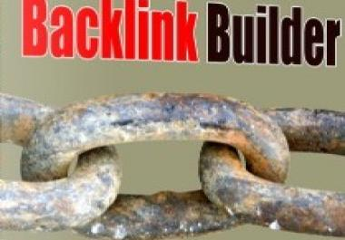 give you fantastic software which will generate backlinks