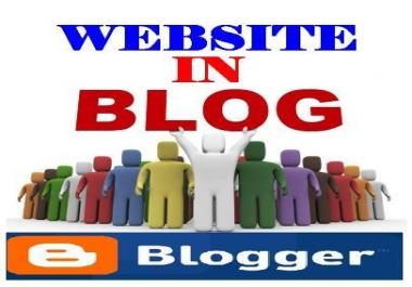 deliver your affiliate page identical to the original page in a blogger blog