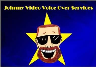 do Voice Acting as a Voice Actor for your Animation, Video, Cartoon, Video Game or Audio File