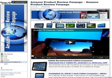 setup a Highly Converting Product Review Fanpage