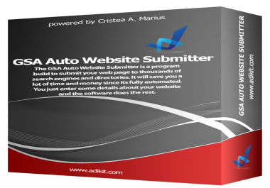 give Auto Website Submitter