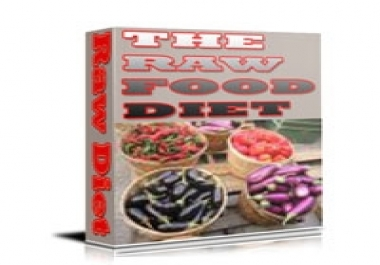 give you a raw foods diet and recipes