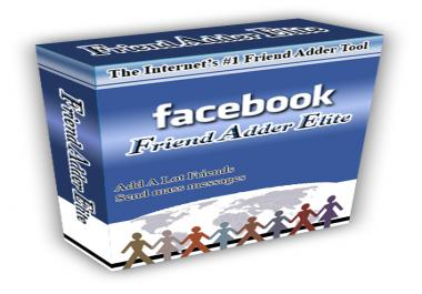 give Facebook Friend Adder