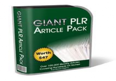 offer you 100000 plr articles ,and articles rewriters (spinners)