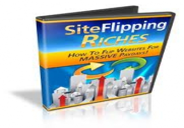 Offer you a video tutorial, SITE FLIPPING RICHES to learn how to flip websites for massive paydays