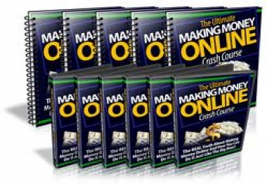 Offer you the ultimate making money online crash course
