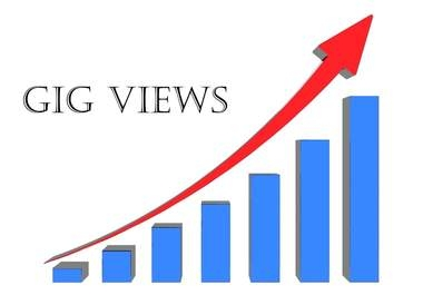 show you how can you get unlimited views for your gigs, automatically