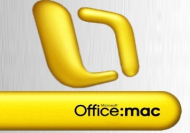 give Microsoft Office mac