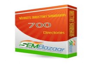 Submit your website to over 700 Web Directories