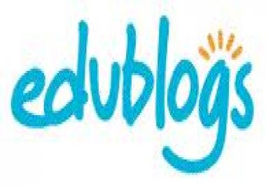 Give you 500 Highly Converting .Edu Blogs