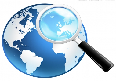 do internet research, web research, online research, data entry, web search as per your need