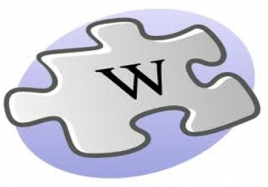 make more than 500 Wiki backlinks from Wiki sites. Wiki links from high PR domain, some EDU Wikis included