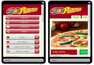 make you a mobile friendly website that will look just like the original
