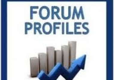 create and Ping 5500 Publicly Viewable,VERIFIED,No Duplicate  forum profile backlinks with xrumer