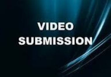manually submit your video to 35 common video sites, and I will blast 2000 forum profile backlinks to the video