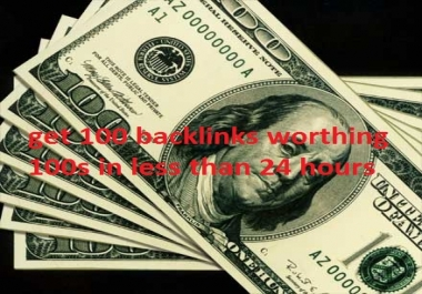 make more than 100 quality backlinks on PR 6 to 9 sites to boots your site on Google first page