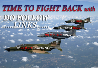 give you a rankings boost when you use this over 1100 do follow urls list for backlinks.