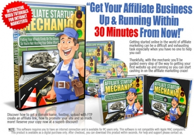 give You The Affiliate Startup Mechanic Training Program