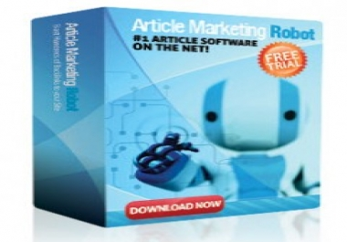 Give Article Marketing Robot