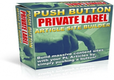 Give You a Revolutionary Software Grabs Your PLR Content Articles & Turns Them Into Beautiful Content Sites Automatically