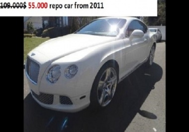 Get your dream car now for a fraction of its cost!!!