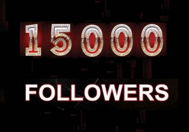 Get you 10,000+ INSTAGRAM followers or 15000 photo likes, in Less than 24 hours