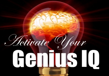 provide an amazing audio to Activate Your Genius IQ