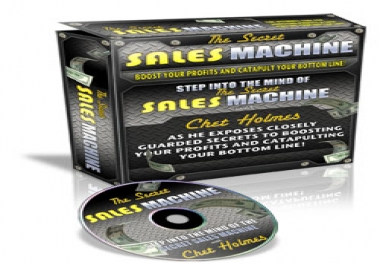 Give Secrets Of A Sales Machine