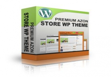 give you Premium Azon Store WP Theme