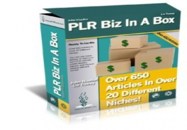 give you over 650 articles in over 20 different niches