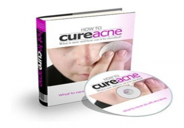 """give audio eBook """"How To Cure Acne"""""""