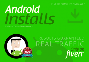 promote your app with 40 HIGH retention installs