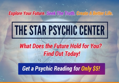 Give You a Professional Psychic Email Reading 500 Words