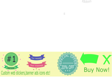 Build ad banners, 10 icons, backgrounds stickers etc