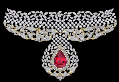 render jewelry sketches and make it come to life