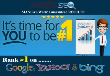 do Rank 1 on google with 1000 high pr manual POWERFUL seo Backlinks