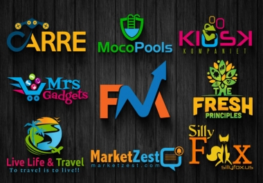 design professional and eye catching logo for your business