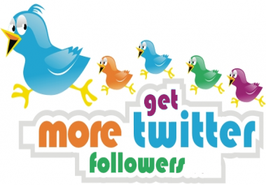 Amazing +2000 Twitter followers Non-drop High quality