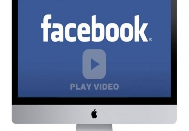 add 10,000+ Facebook Video views Non-Drop – Fast Delivery – High Quality – 100% SAFE