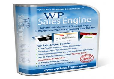 """send you download link for The """"All-in-One"""" Marketing Landing Page Builder & Writer for WordPress"""