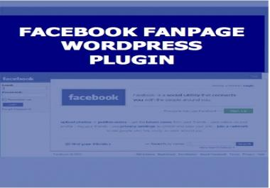 give you a super cool FaceBook Fan Page software plugin