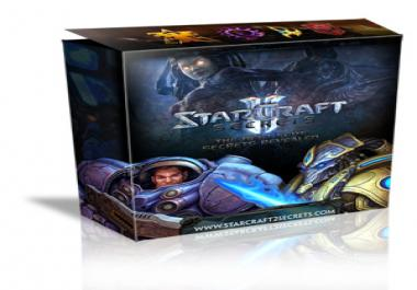 give you a Pro Starcraft 2 Strategy Guide showing you best tactics and strategies for game domination!