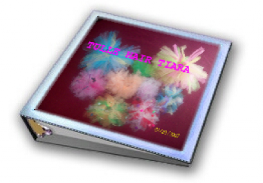 send you my tulle hair tiara instruction ebook, 3 bonuses and reselling and rebranding rights